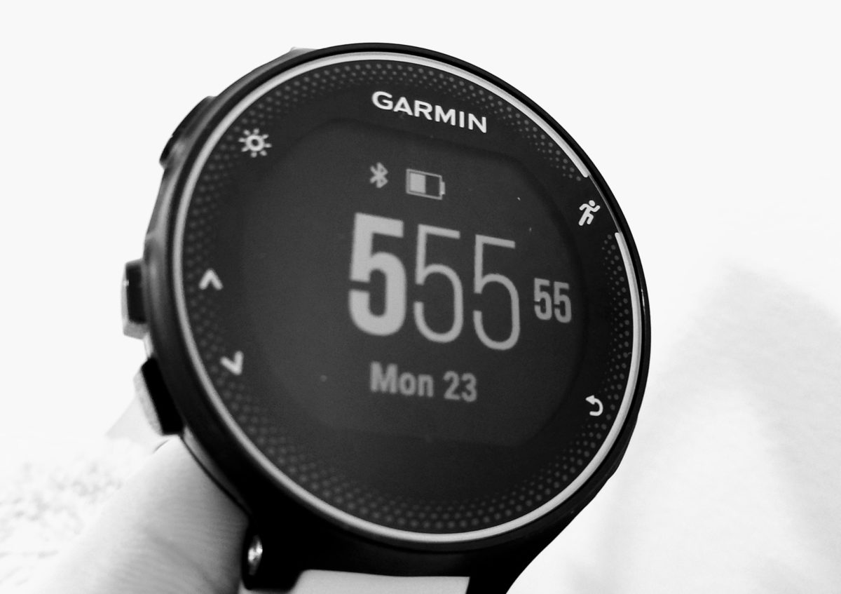 Garmin Forerunner 230/235 wrong time?! [SOLVED]