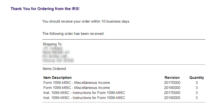 How To Get Scannable 1099 Forms From The Irs