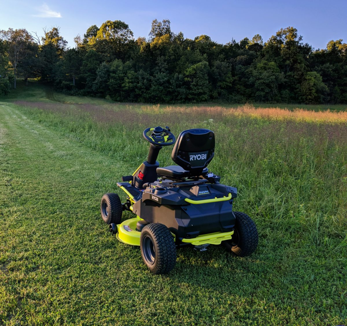 Ryobi Electric Riding Lawn Mower Reviews