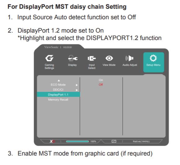 2020 List Of Displayport 1 2 Daisy Chainable Mst Monitors  U2013 2020 List Of Displayport 1 2 Daisy